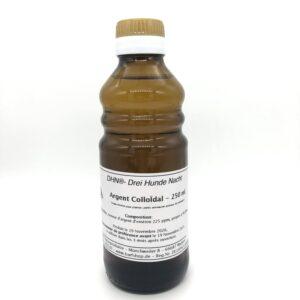 bouteille d'argent colloïdal, 250 ml, 25 ppm