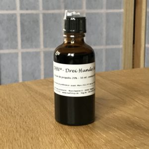 50 ml d'extrait de propolis pour chien et chat, stimule le système immunitaire et atténue les inflammations