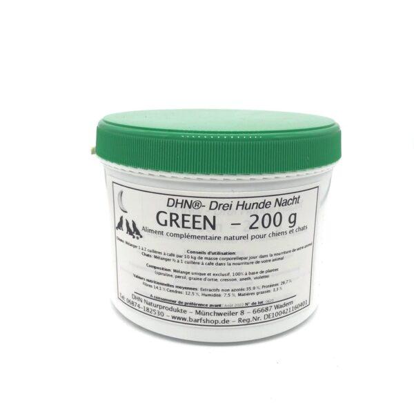 green, mélange de plantes médicinales en cas de maladie chronique 200g