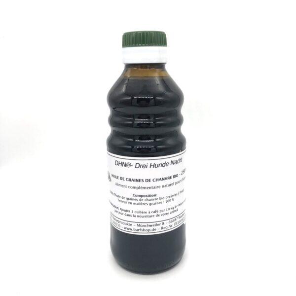 250 ml d'huile de chanvre bio pour chien