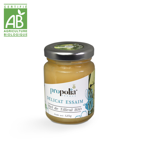 miel de tilleul, bio et français, 125 g