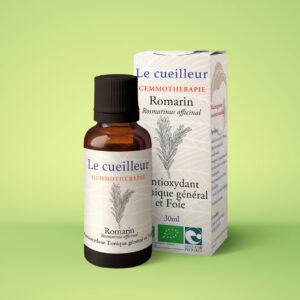 gemmothérapie, macérat de romarin, 30 ml